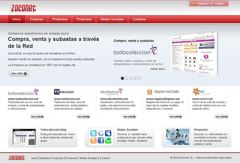 zoconet web iniciativas en la red