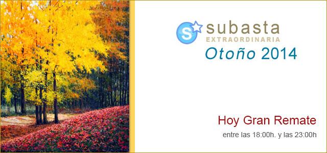 Subasta Extraordinaria Otoño 2014