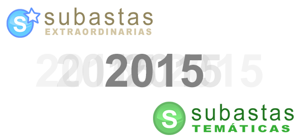 Calendario Subastas Extraordinarias y Temáticas 2015