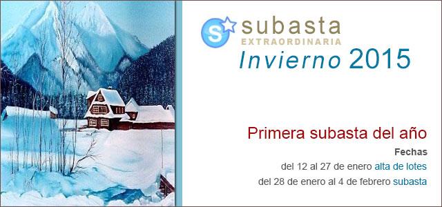 Subasta Extraordinaria Invierno 2015