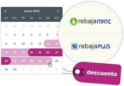 Novedades Rebajamatic y Rebajaplus