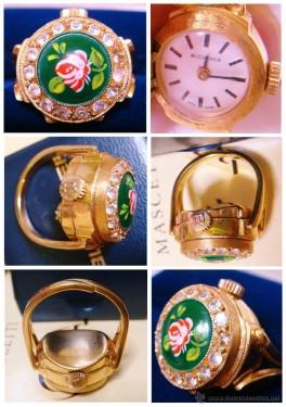 Anillo-reloj Buchier