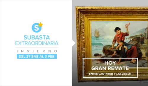 Hoy Gran remate, Subasta Extraordinaria Invierno 2016